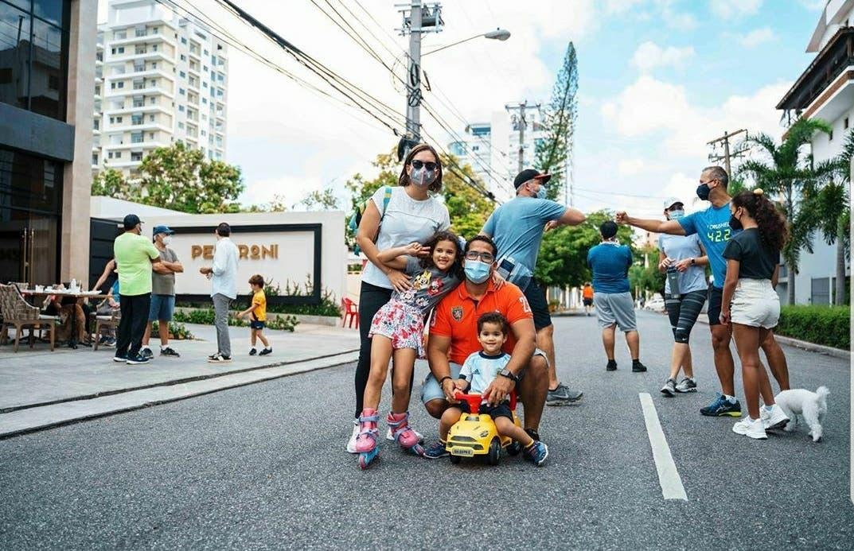 Ayuntamiento DN  inicia plan piloto para caminar en familia.