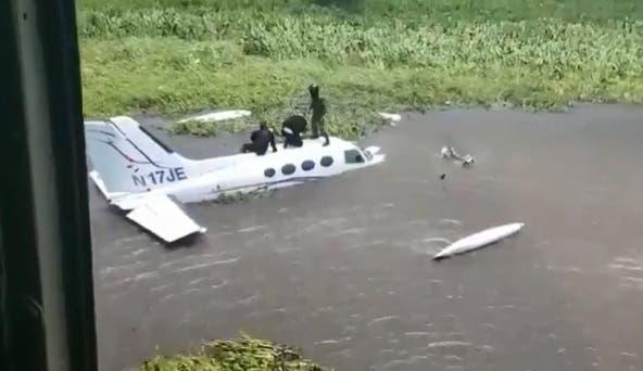 Venezuela inutiliza avioneta procedente de República Dominicana por narcotráfico