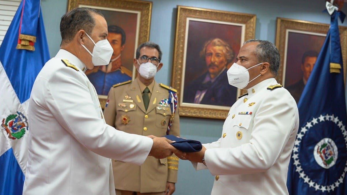 Ministro de Defensa encabeza ceremonia cambio de mando en Armada Dominicana
