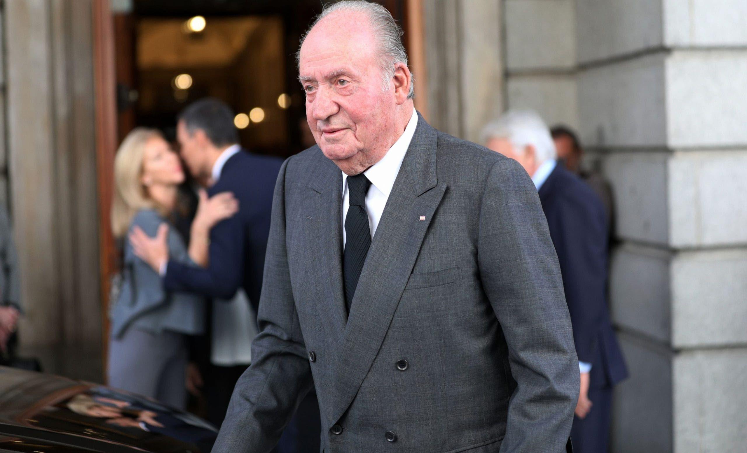 Nadie dice  si  Juan Carlos I está en  Dubai