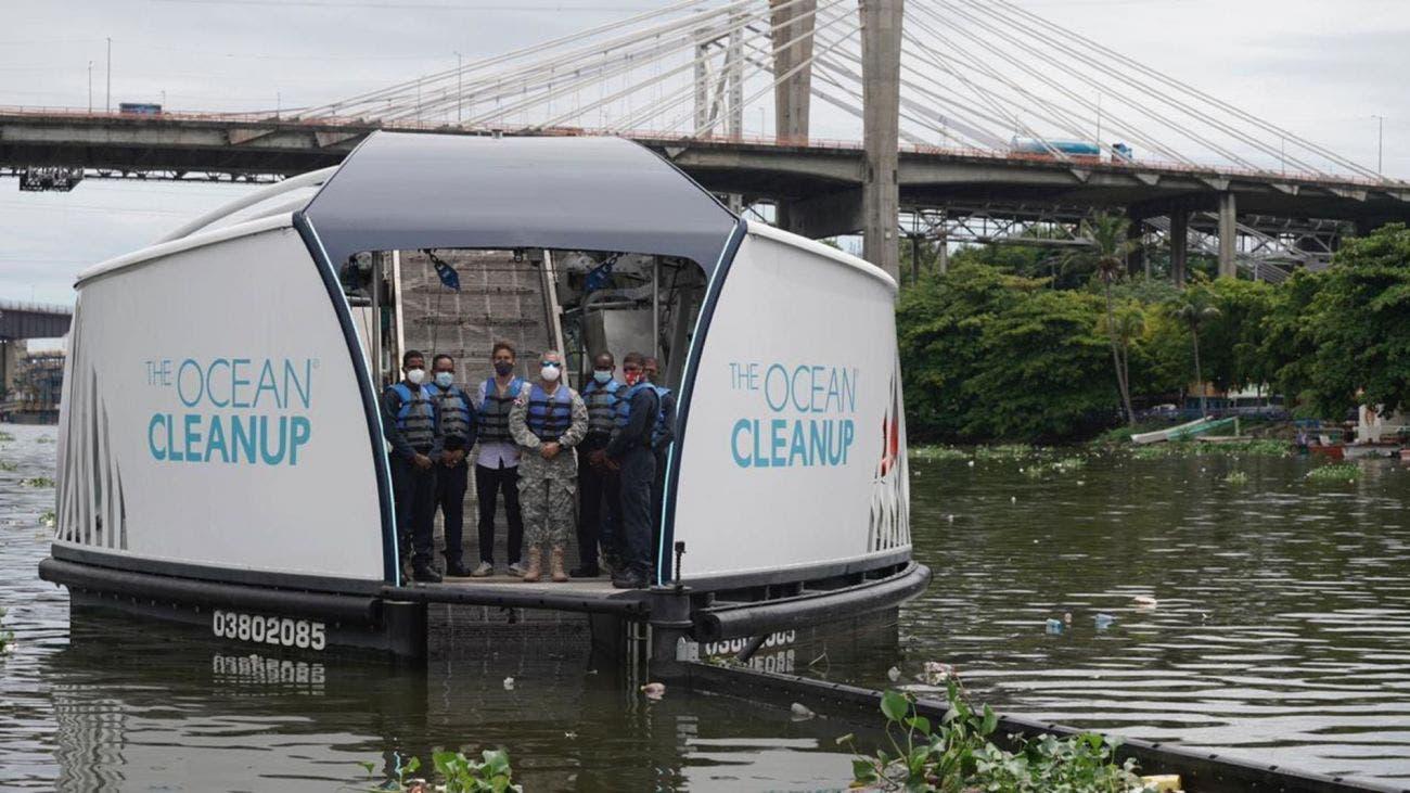 Ríos Ozama e Isabela se vislumbran liberados de plásticos con llegada de Interceptor 004