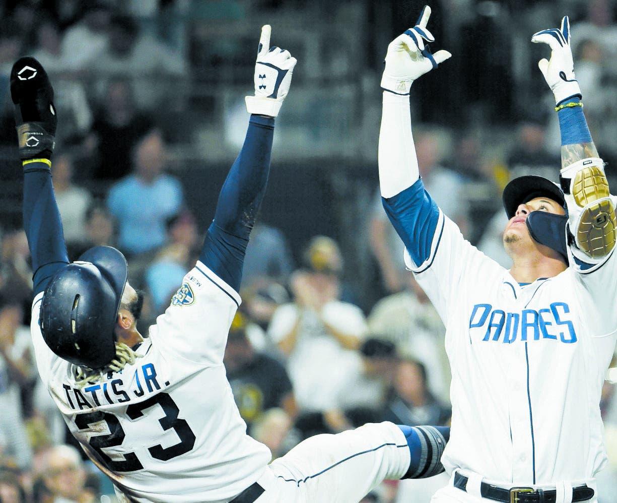 Tatis Jr. y Machado suben  el nivel  juego de Padres