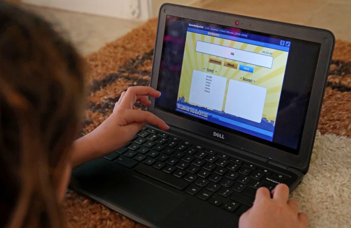 Los  niños 'regulados' son afectados clases virtuales