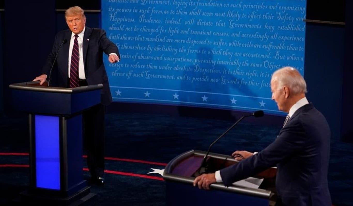 """«¿Por qué no te callas, hombre?"""", los momentos del debate entre Trump y Biden"""