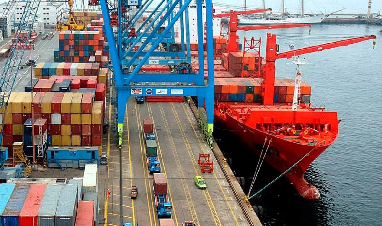 Las importaciones  caen cerca de 26% al mes de agosto