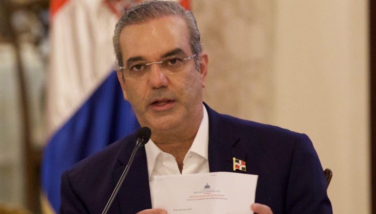 Luis Abinader anuncia que convocará al Consejo Nacional de la Magistratura
