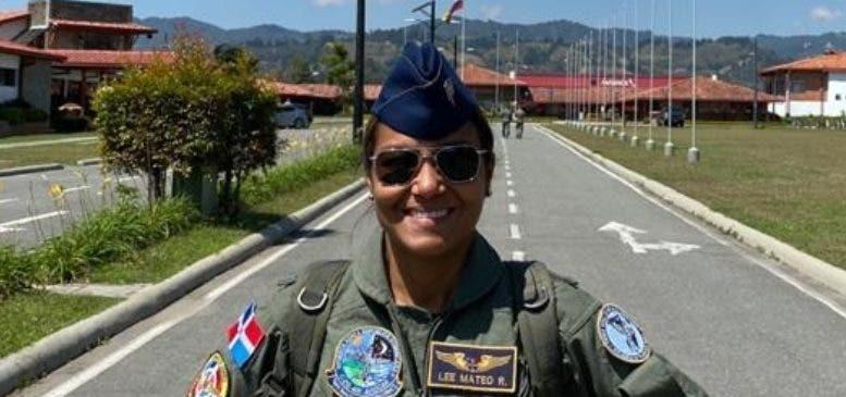 Primera mujer dirige batallón de vuelo FARD
