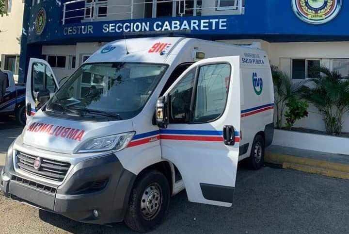 Desconocidos agreden a pedradas ambulancia del 9-1-1 en un sector de Cabarete