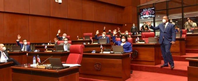 Senado aprueba modificación al Presupuesto Complementario