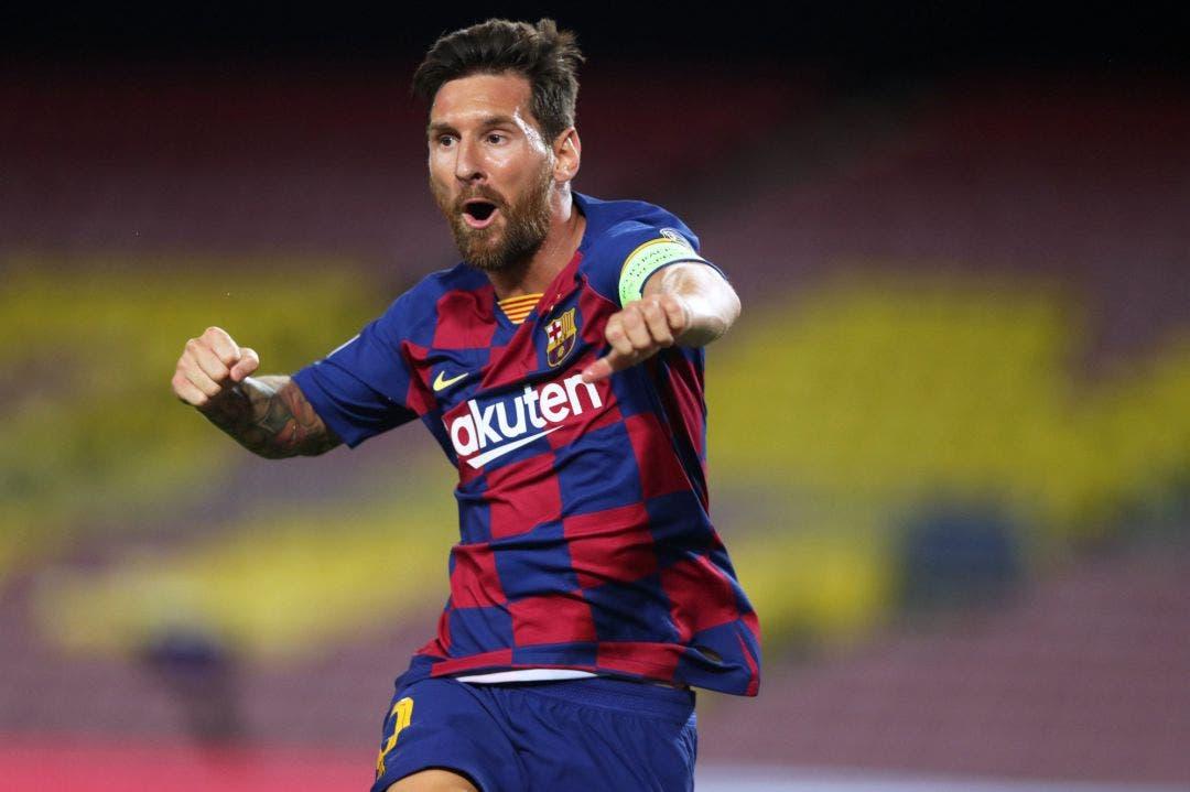 Messi amplía su ventaja al frente de la tabla