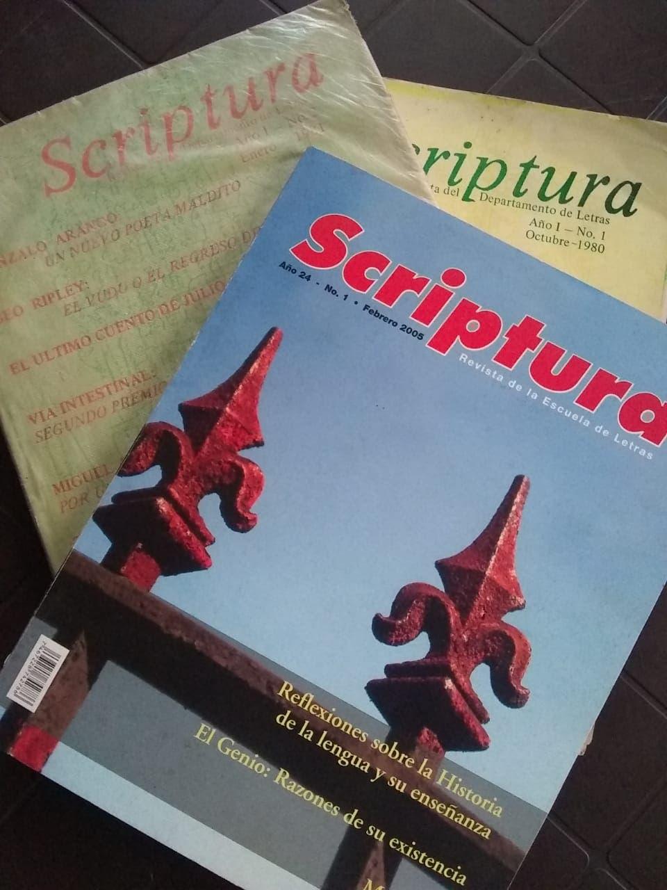 Enfoques y Scriptura, las nuevas revistas de la Escuela de Letras y el Instituto de Investigación Lingüística y Literaria de la UASD