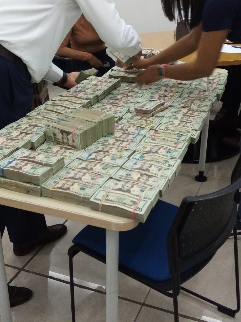 Un nuevo decomiso de 2.17 millones de dólares en muelle de Haina