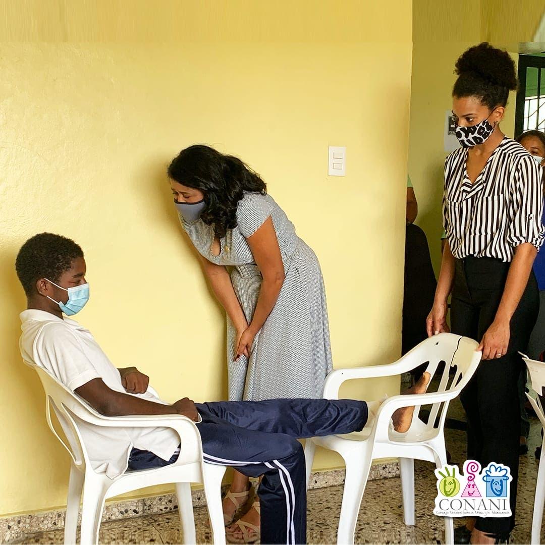 Presidenta Conani inicia recorrido por  hogares de paso a nivel nacional