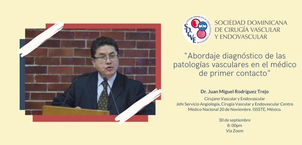 Sociedad Dominicana de Cirugía Vascular y Endovascular iniciará ciclo de conferencias