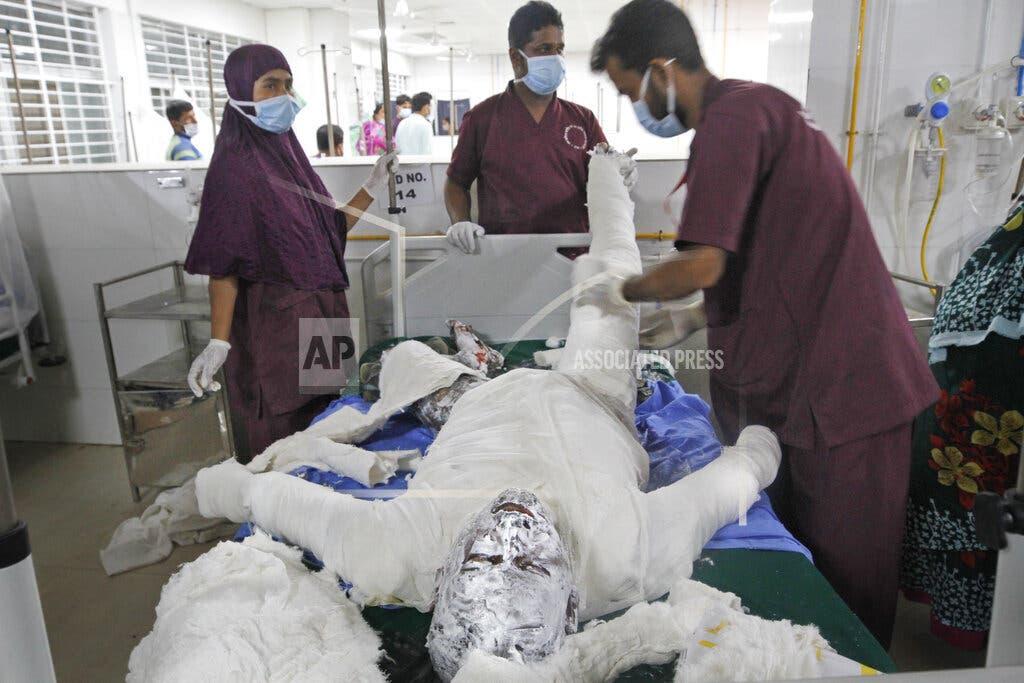 Bangladesh: 16 muertos en la explosión de una tubería de gas