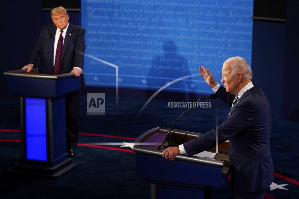 Biden llama a Trump «mentiroso» tras ser acusado de socialista