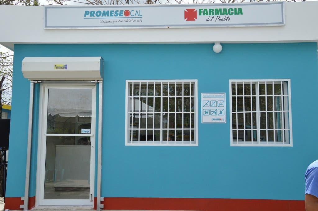 PROMESE/CAL destinará RD$680 millones para suplir las Farmacias del Pueblo