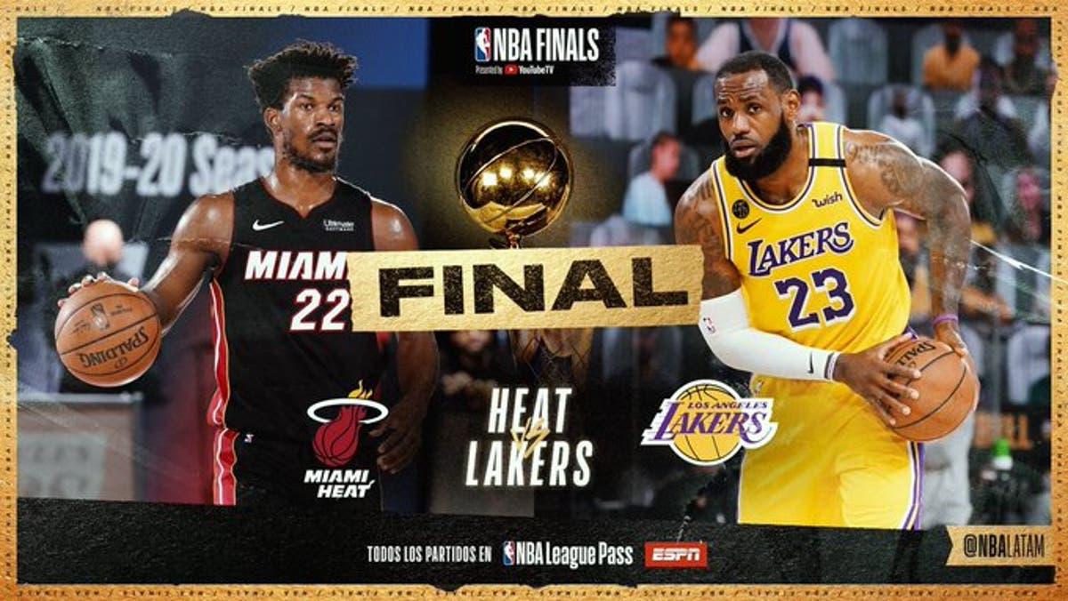 NBA: Primer duelo entre Lakers y Miami Heat será este miércoles | El Día