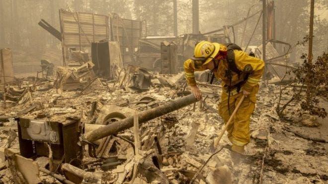 Incendios en EEUU: la cifra de muertos aumenta mientras el fuego avanza por Oregón, California y Washington