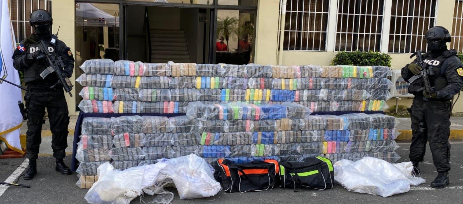 Cocaína ocupada  tenía como destino a Bélgica