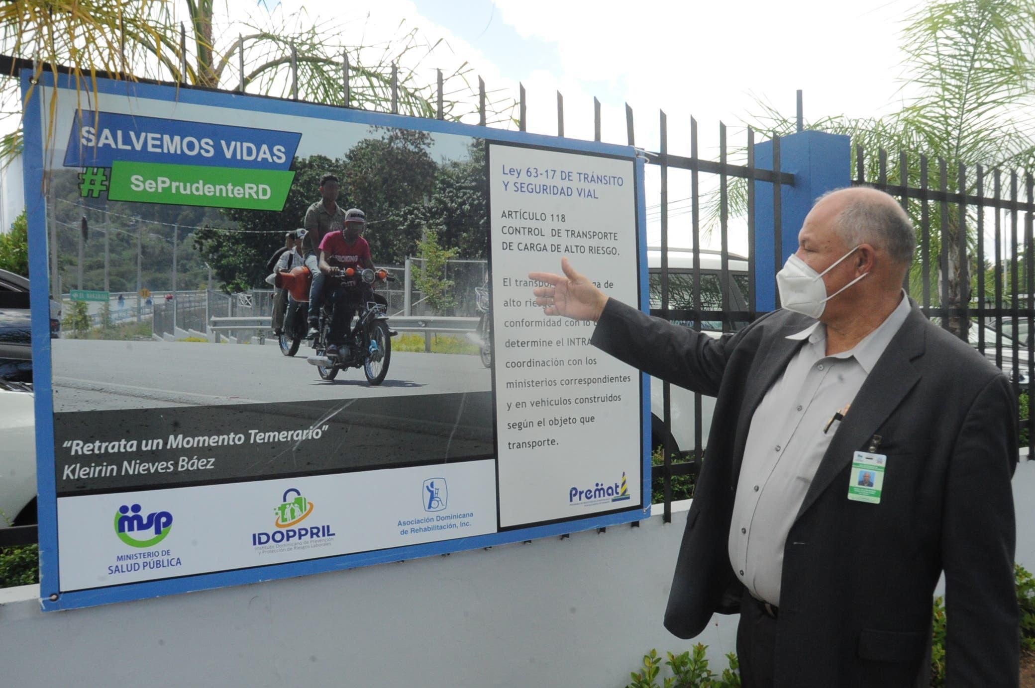 Santo Domingo ocupa primer lugar entre provincias de RD donde ocurren más accidentes de tránsito