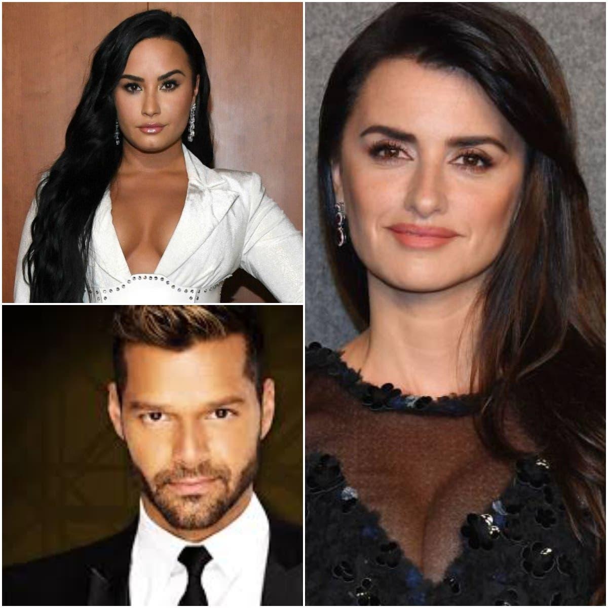 Demi Lovato, Penélope Cruz y Ricky Martin animan a votar en Estados Unidos