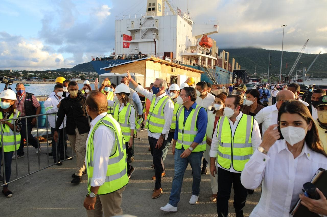 Presidente Abinader anuncia desembolso de RD$48 millones para terminación mercado de Puerto Plata