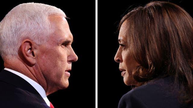 Kamala Harris vs Mike Pence: quién ganó el tenso y monótono debate entre los candidatos a la vicepresidencia de EE.UU.