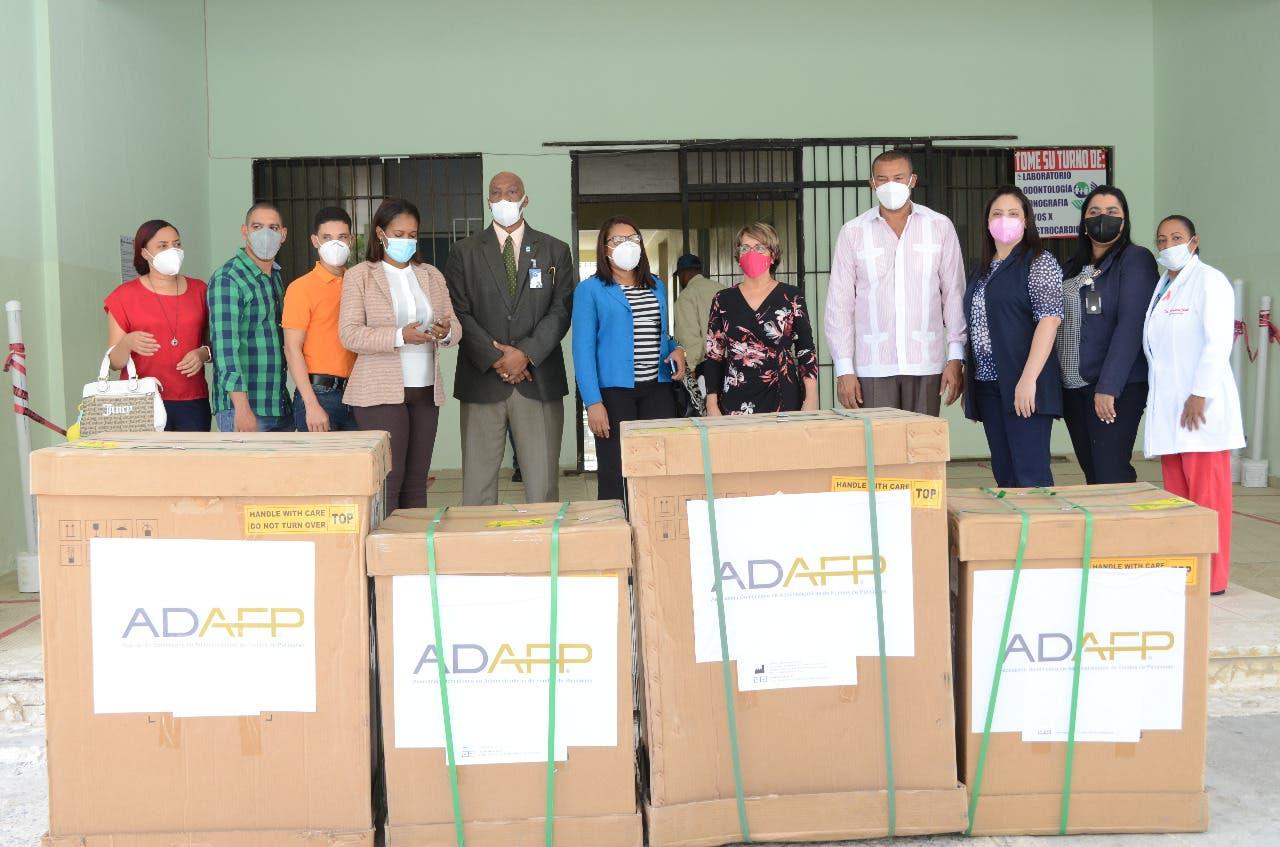ADAFP completa donación de 17 ventiladores a hospitales para tratar pacientes de Covid-19