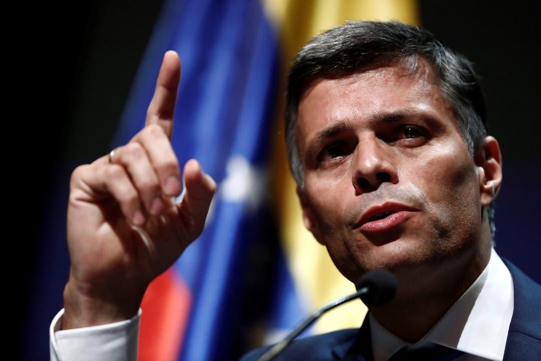 Leopoldo López: «Yo no quería salir de Venezuela»
