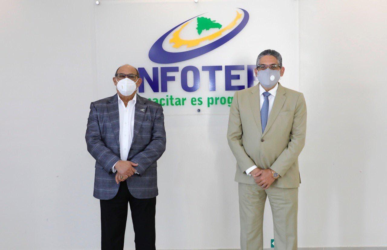 Infotep y Optic firmarán acuerdo para fortalecer plataformas tecnológicas de capacitación