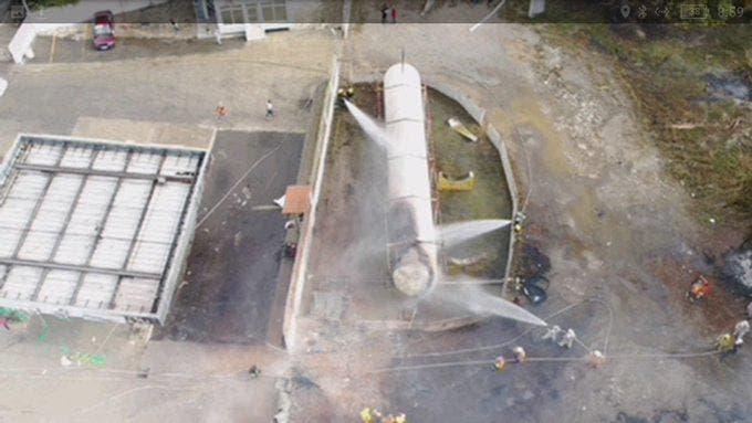 Ascienden a tres los muertos por explosión planta de gas en Licey al Medio