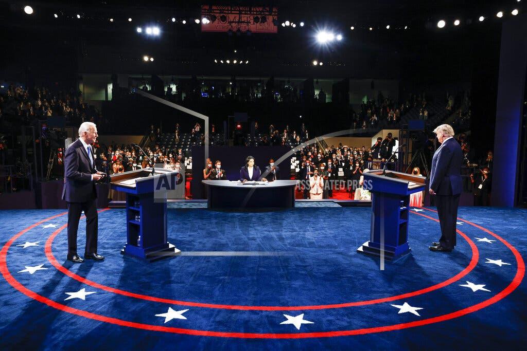 Debate: Trump y Biden intercambian ataques sobre coronavirus