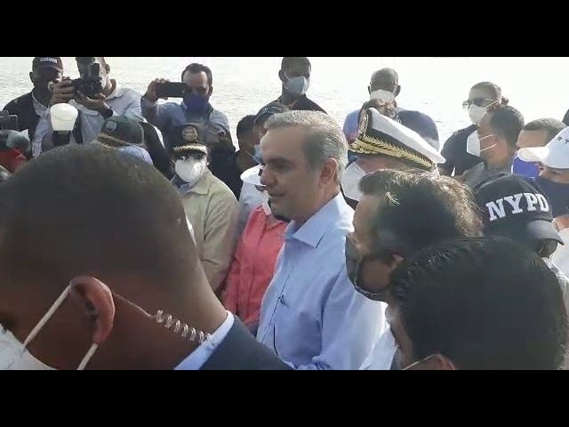 Presidente Abinader realiza recorrido por río Isabela y Ozama