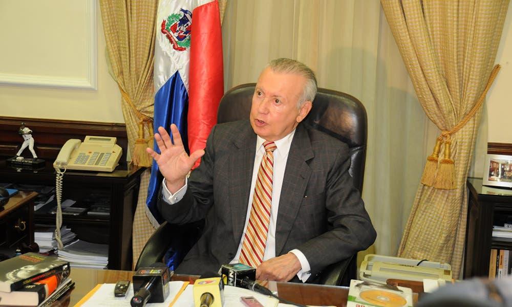 Rafael Alburquerque advierte entrega 30% AFP generaría caos en la economía