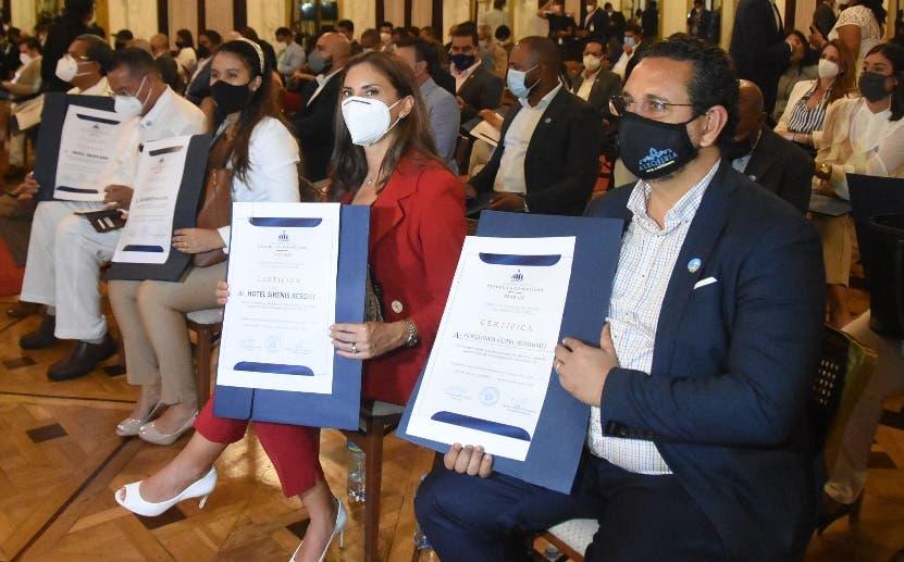 Gobierno certifica hoteles control Covid