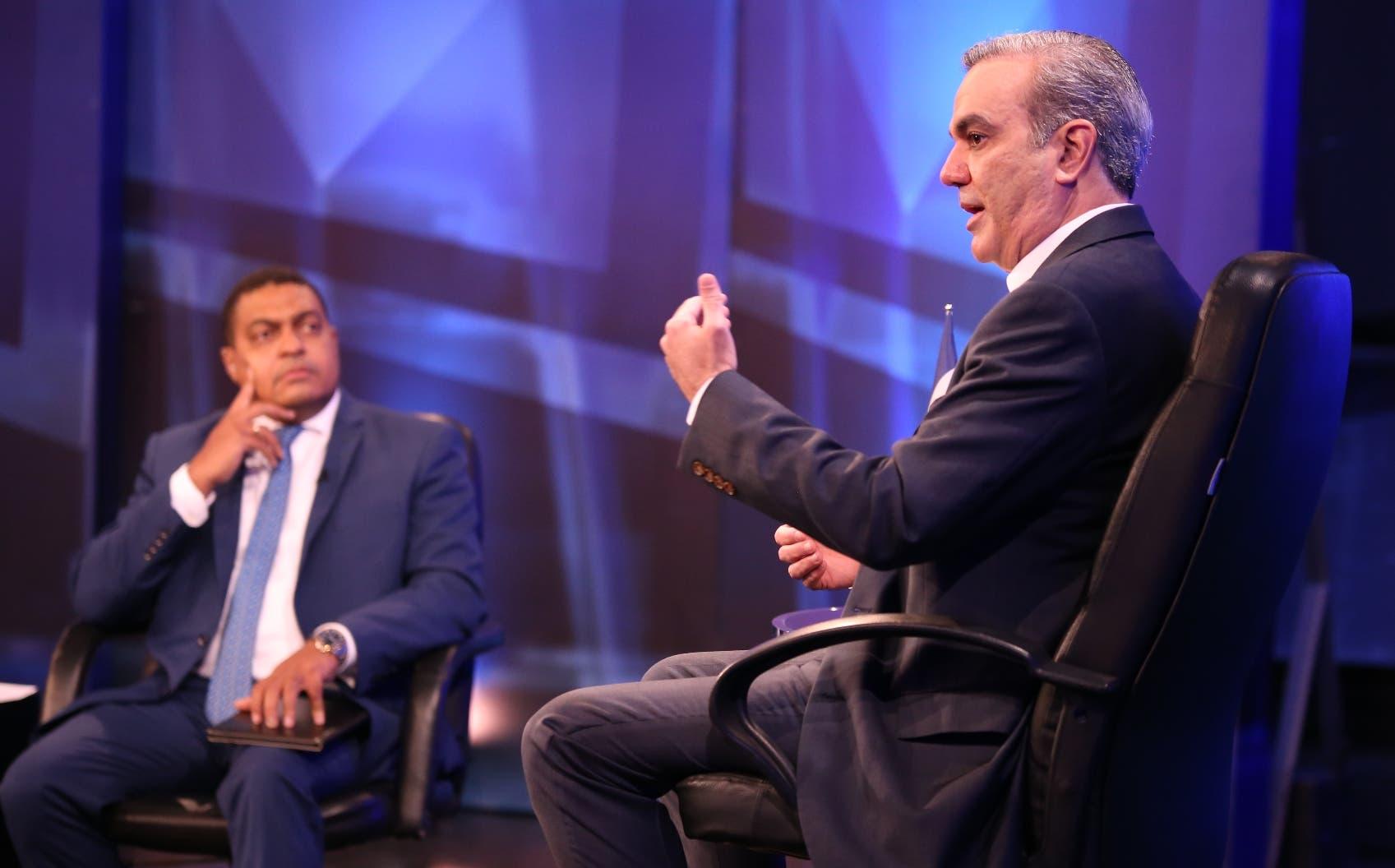 """Luis Abinader: """"Yo no he pensado un solo día en reelección"""""""