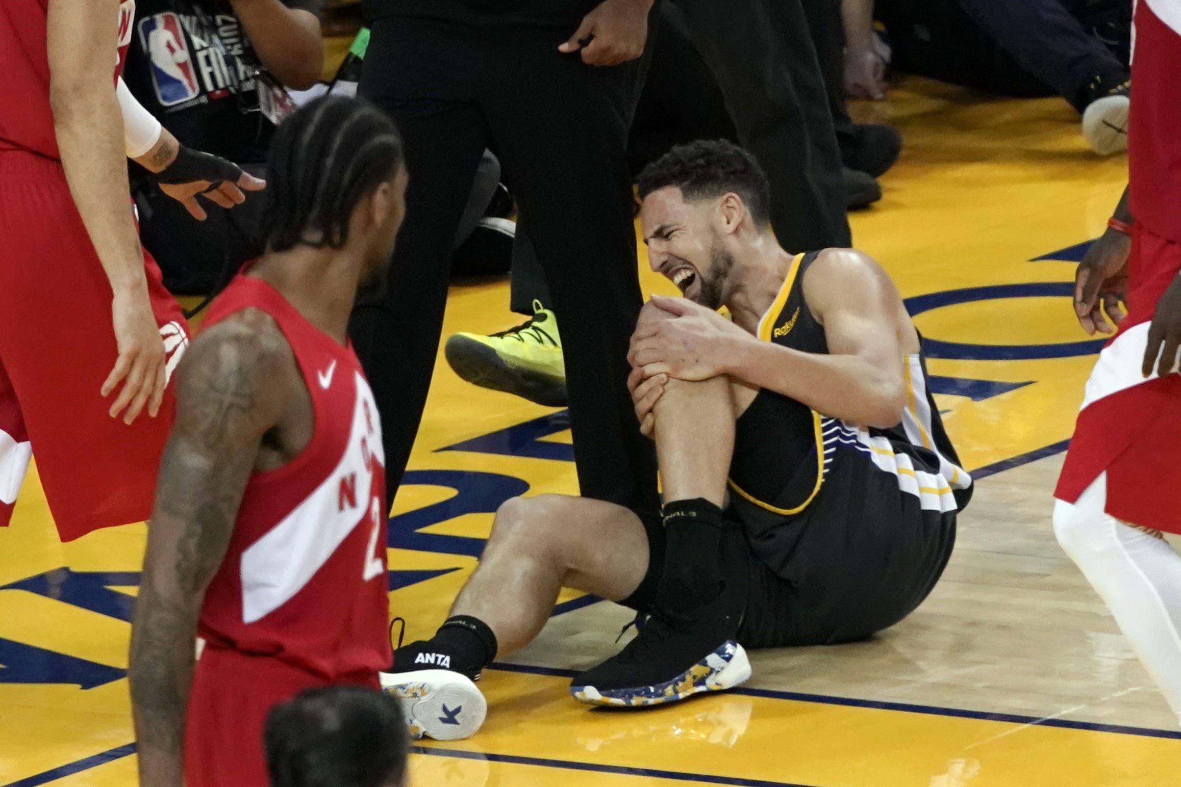 Klay Thompson sufre desgarro tendón de Aquiles y se perderá temporada 2020-21