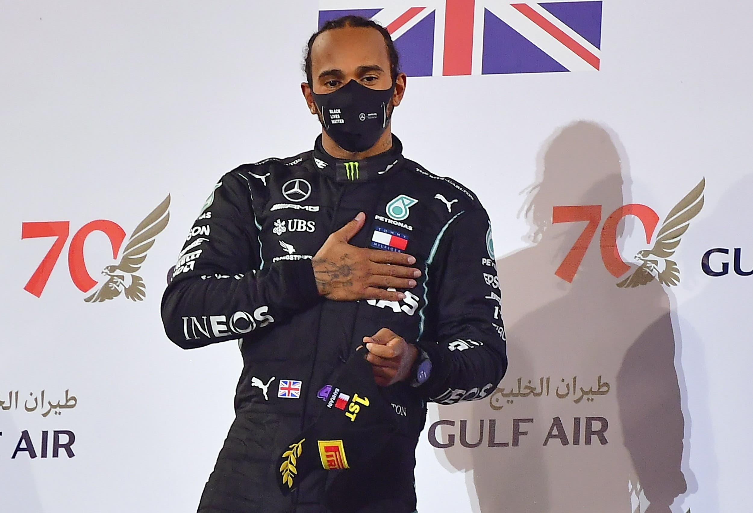 Hamilton da positivo al COVID-19, no estará en GP de Sakhir