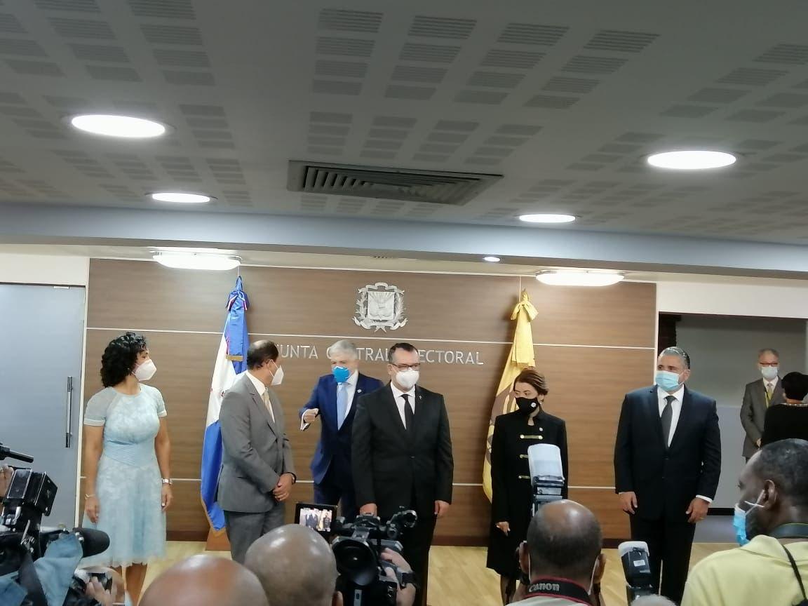 Qué dijo Román Jáquez al asumir como presidente de la JCE