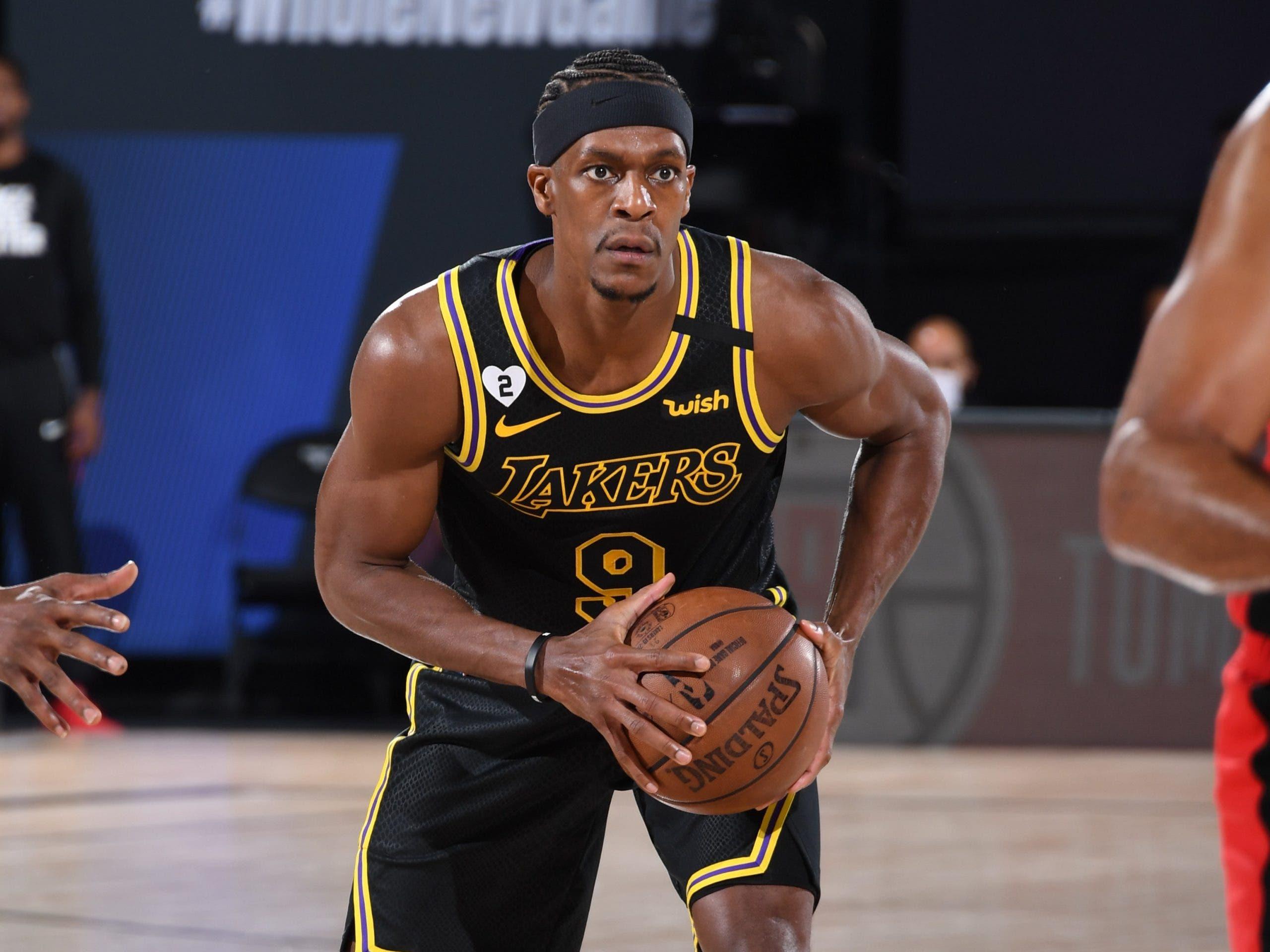 Rajon Rondo se despide de los Lakers y firma con los Hawks por dos temporadas