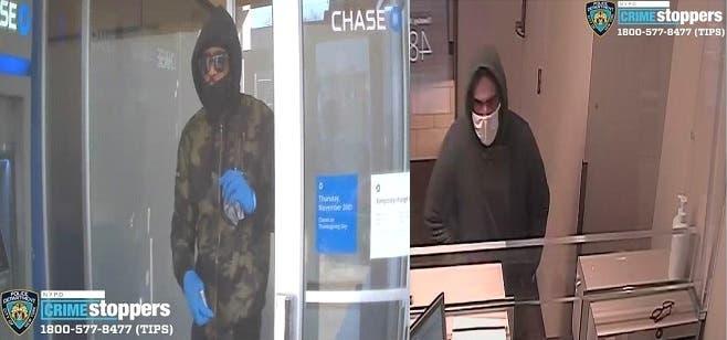 Atracan dos bancos en NYC el mismo día y con dos horas de diferencia