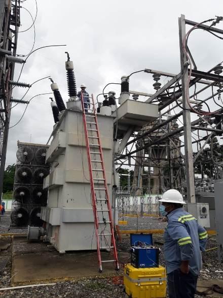 EdeEste sustituye transformador de potencia de subestación de SDN por evento imprevisto
