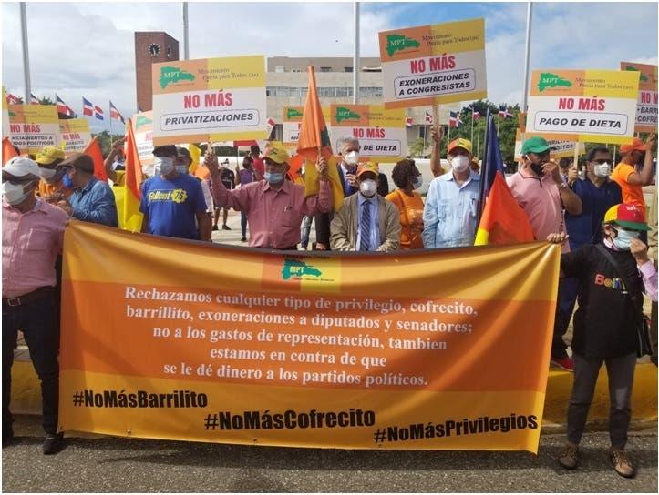Patria para Todos pide fin de privilegios a legisladores y altos funcionarios