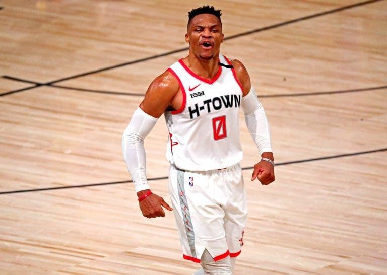 Russell Westbrook quiere dejar los Rockets después de 1 año