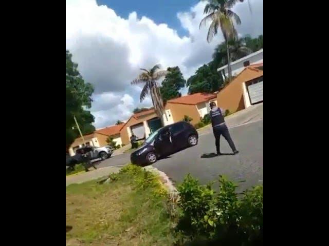 Video del momento en el que ultiman hombre que mató a 4 miembros de una familia en SDE