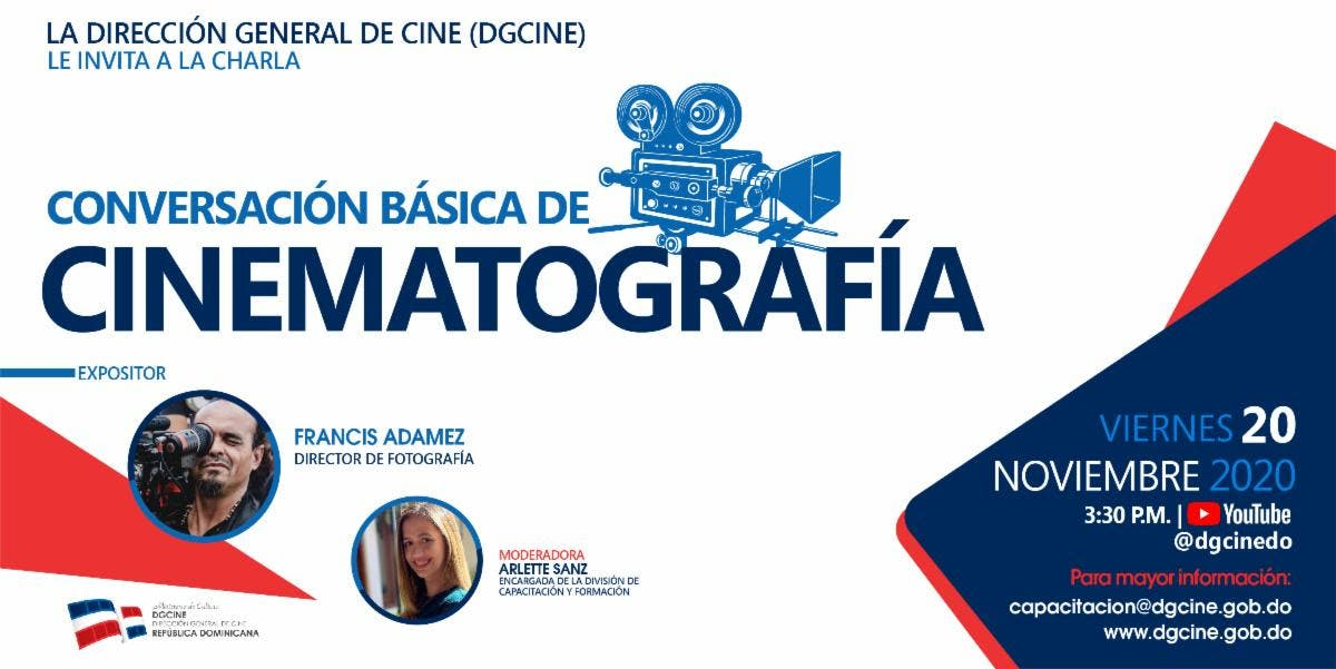 """Dirección General de Cine realiza charla""""Conversación básica de cinematografía"""""""