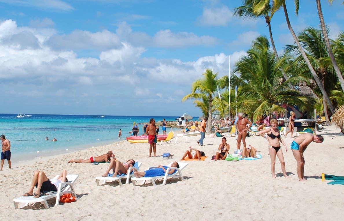 El turismo en República Dominicana creció 3,4 % en marzo