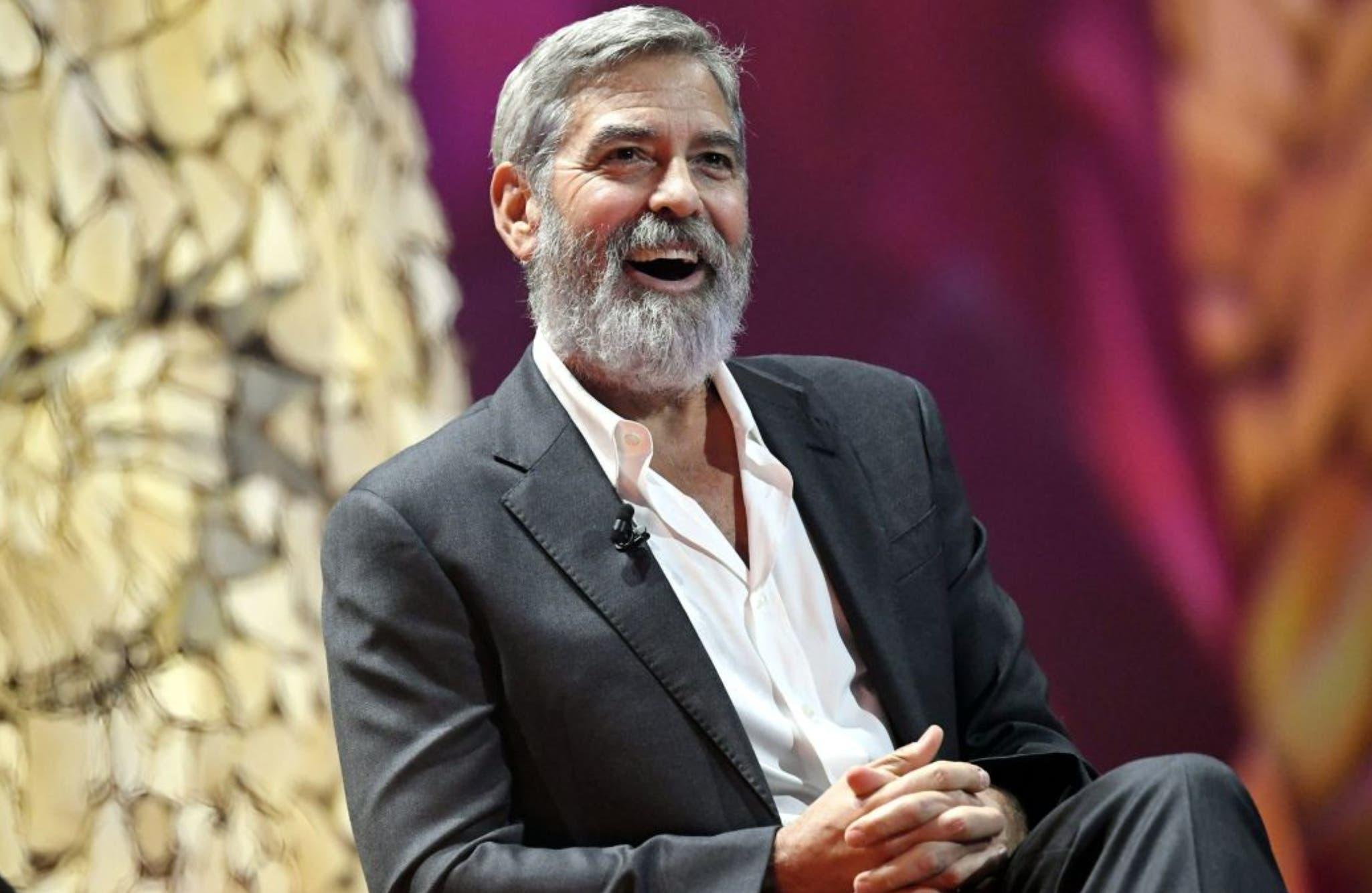 """George Clooney: """"El odio es la  peor epidemia que enfrentamos"""""""