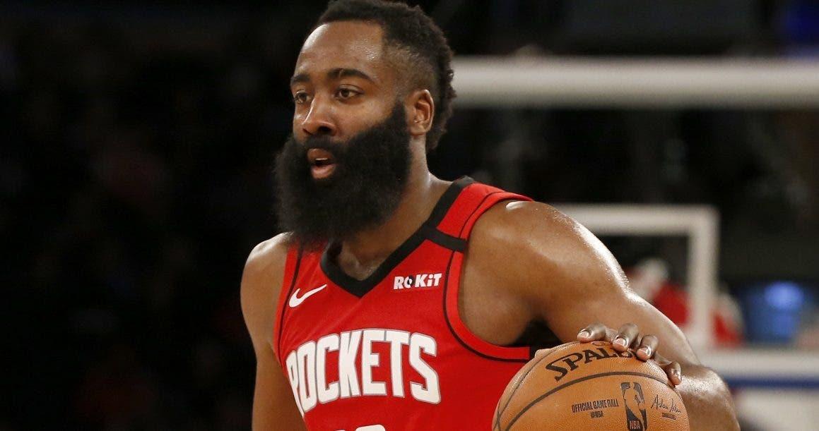 James Harden sufre esguince de tobillo y no juega con Rockets ante Kings